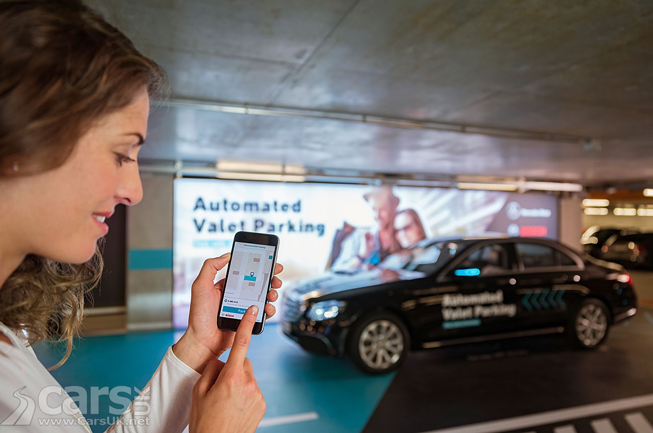 Automated Valet parking 2025AD