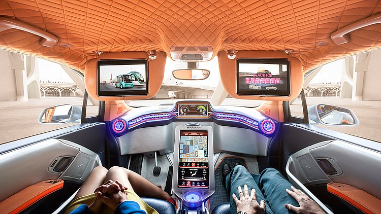 THE CAR AS A LIVING SPACE - 8